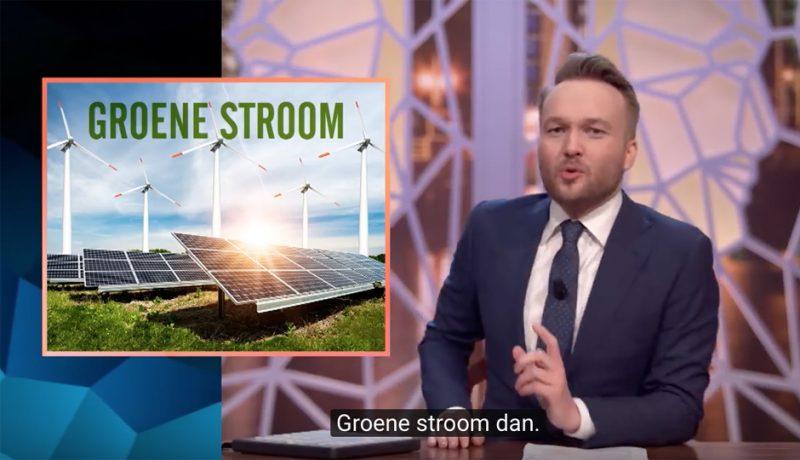 Groene stroom Arjen Lubach